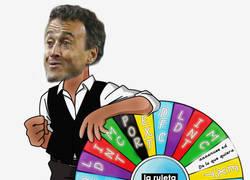 Enlace a Así elige Luis Enrique la posición de Sergi Roberto