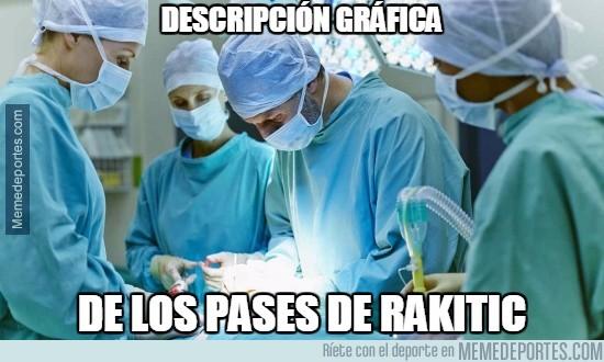 787246 - Asistencias de Rakitic y una cirugía, parecido más que razonable