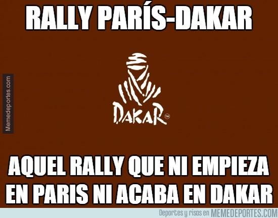 787320 - Rally París-Dakar, muy lógico todo, aunque ahora se llame solo Dakar