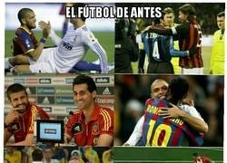 Enlace a Diferencias entre el fútbol de antes y el actual. El