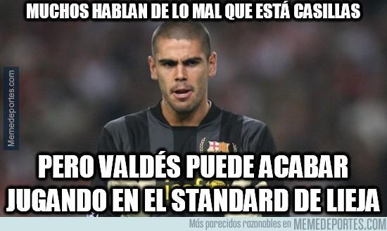 787572 - Muchos hablan de lo mal que está Casillas, pero Valdés...