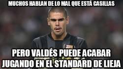 Enlace a Muchos hablan de lo mal que está Casillas, pero Valdés...