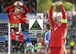 Enlace a Sabes que Rooney está regresando a su nivel cuando se vuelve Iluminati