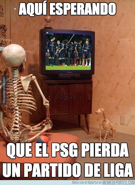 787671 - Aqui esperando que el PSG pierda un partido de liga