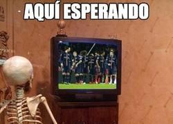Enlace a Aqui esperando que el PSG pierda un partido de liga