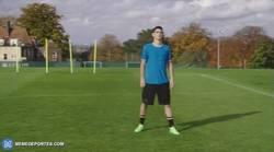 Enlace a GIF: Yo me lo guiso y yo me lo como. Centro y gol del brasileño Oscar en una misma jugada