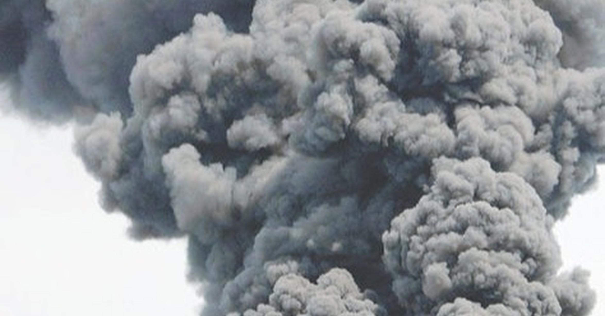 Afectadas por inhalación de humo dos personas en un incendio