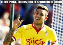 Enlace a Lleva 2 hat-tricks con el Sporting de Gijón