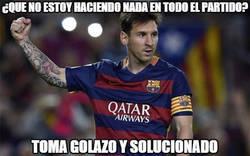 Enlace a Messi aparece cuando quiere