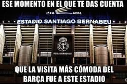 Enlace a La paradójica visita del Barça al Bernabéu