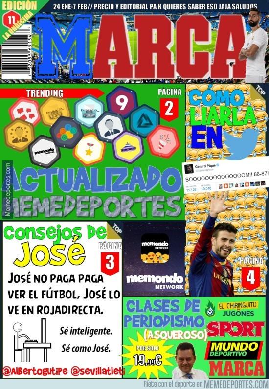 789158 - ¡La 11ª edición de la revista Memedeportes!