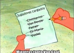 Enlace a La lista de Van Gaal