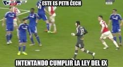 Enlace a Čech lo ha intentado pero no pudo ser :(