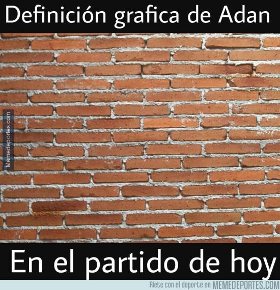 790290 - Partido magistral de Adán contra el Real Madrid