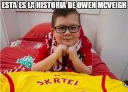 Enlace a Descansa en paz Owen Mcveigh, un verdadero red :(