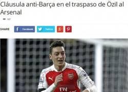 Enlace a Cláusula anti-Barça de Özil: si el Arsenal lo vende al Barça, el Real Madrid se lleva el 33%