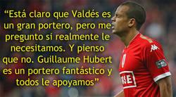 Enlace a Más problemas para Valdés, esto opina de él Mathieu Dossevi