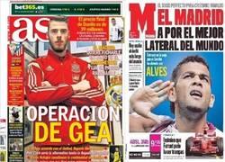 Enlace a 20 jugadores que tendría el Madrid según los periódicos