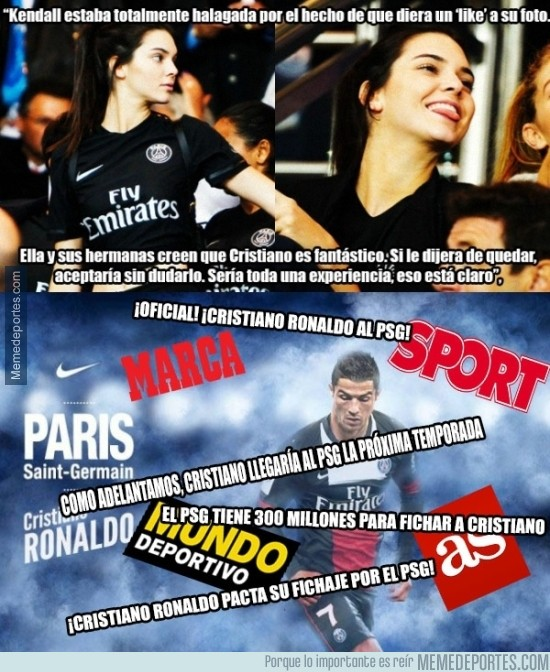 791686 - Lo que ha dicho Kendall Jenner, mientras tanto los diarios deportivos...