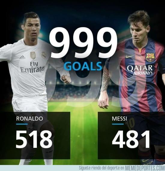 792290 - ¿Quién marcará el gol número 1000?