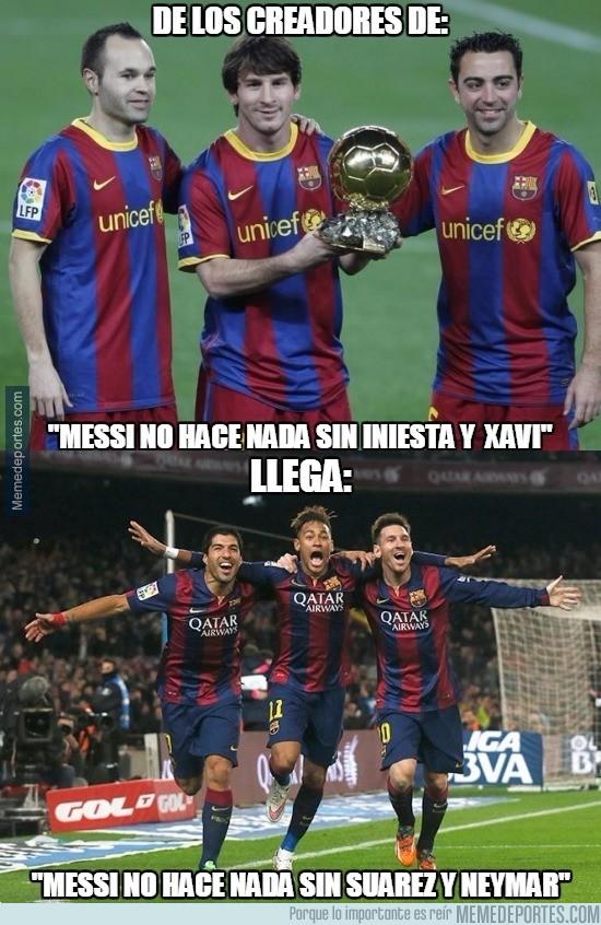 793559 - Siempre hay que infravalorar a Messi