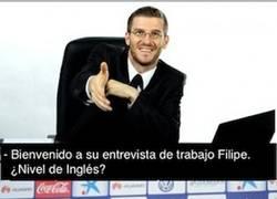 Enlace a La entrevista de trabajo de Filipe Luis