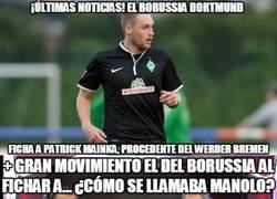 Enlace a Nuevo fichaje del Borussia Dortmund, Patrick Mainkra, digo... Mainka