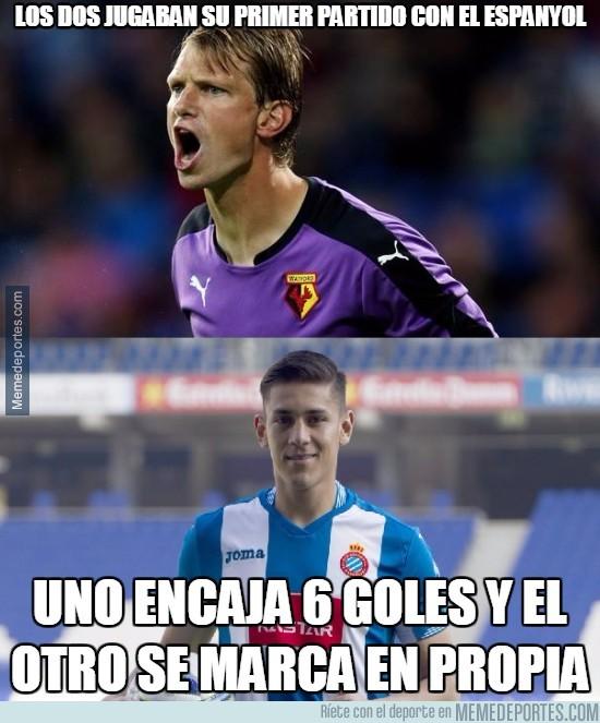 794657 - Vaya debut de los jugadores del Espanyol en el Bernabéu