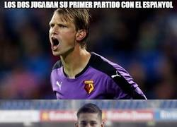 Enlace a Vaya debut de los jugadores del Espanyol en el Bernabéu