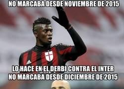 Enlace a Los goleadores del Milan contra el Inter