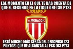 Enlace a Impactante dato en la Ligue1