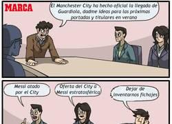 Enlace a Guardiola al City, mientras tanto Marca...