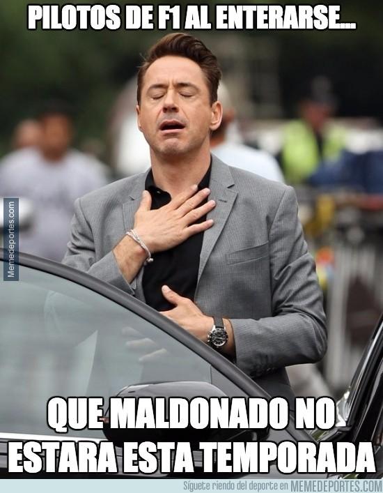 795087 - Pastor Maldonado no formará parte de la parrilla en 2016