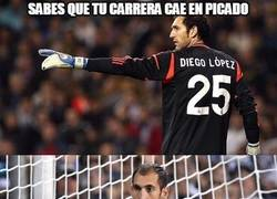 Enlace a ¡Diego López puede volver a la Liga española!