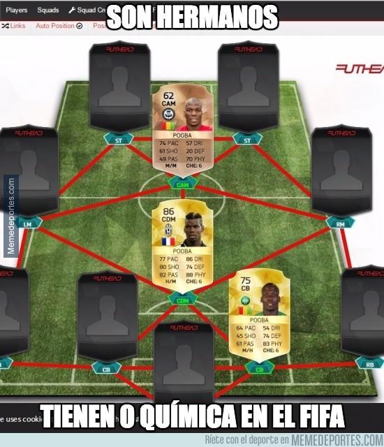 795172 - Algo falla en el FIFA con los Pogba