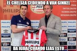 Enlace a El Chelsea cediendo a Van Ginkel