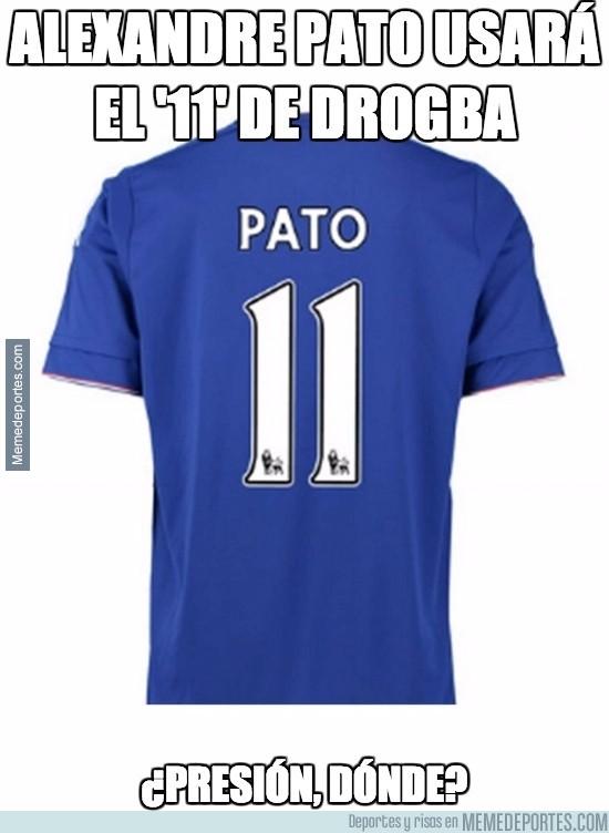 795456 - Pato usará el '11' de Drogba