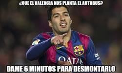 Enlace a Suárez adelanta al Barça