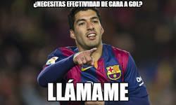 Enlace a Espectacular el nivel de Luis Suárez