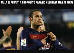 Enlace a Enorme gesto de Neymar