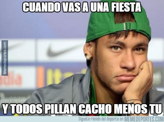 796526 - Neymar tras el póker de Suárez y el hattrick de Messi :(