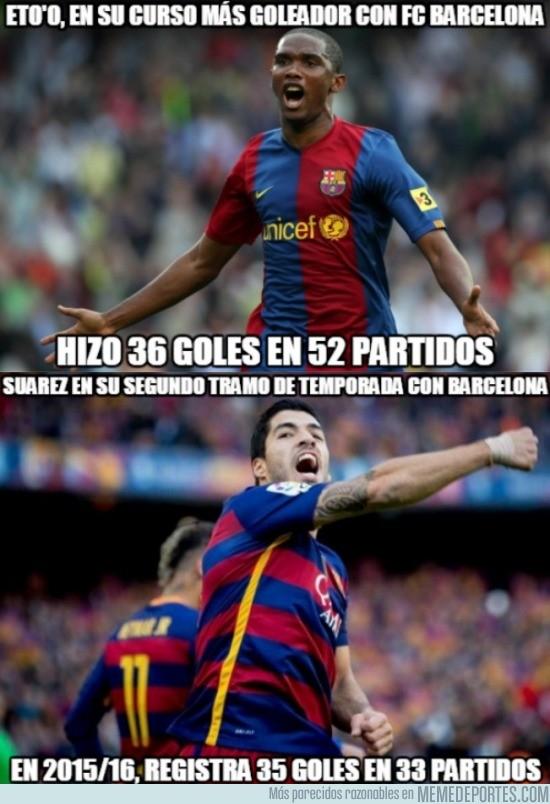 796649 - Comparativa Etoo' - Suárez