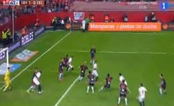 Enlace a GIF: Gooooolazo de Rami para adelantar al Sevilla