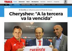 Enlace a Cherysev quiere la Copa a toda costa