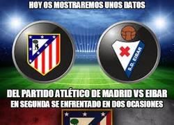 Enlace a Unos datos sobre el Atlético de Madrid vs Eibar. Se espera un partidazo