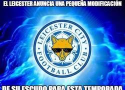 Enlace a El Leicester anuncia una pequeña modificación