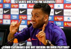 Enlace a Un chiste de partido el de Alves contra el Levante...