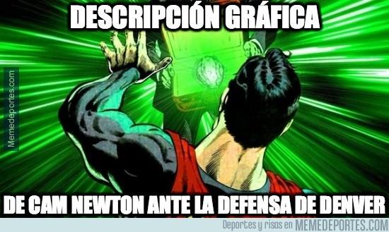 799379 - Espectacular defensa de los Broncos, Cam Newton no puede con ella
