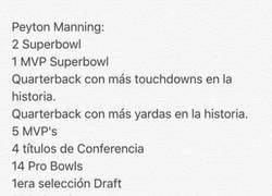 Enlace a Peyton Manning: LE-YEN-DA