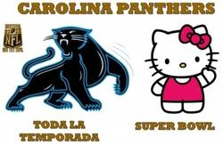 Enlace a Carolina Pathers en la Super Bowl